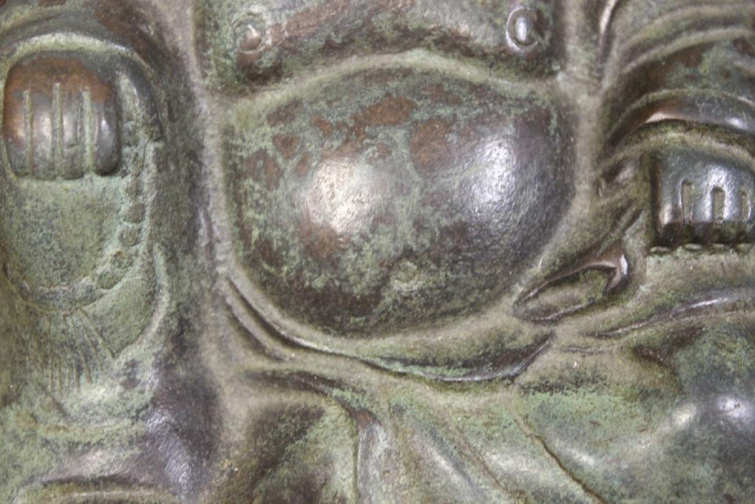 A Vintage ChineseBronze/Metal Buddha - 2