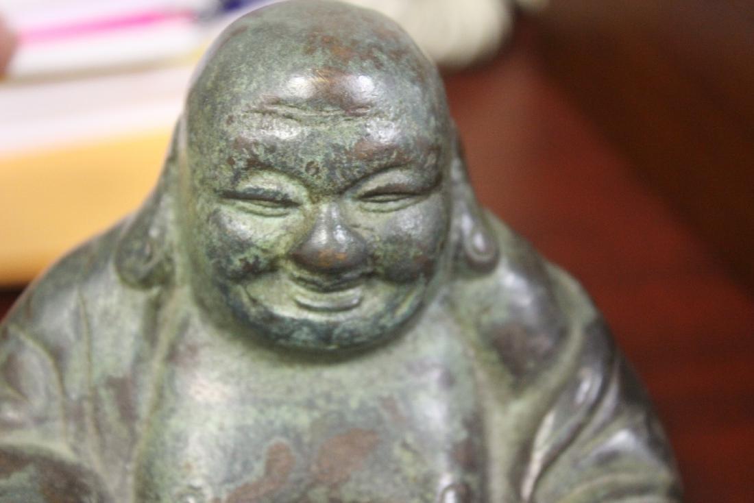 A Vintage ChineseBronze/Metal Buddha - 4