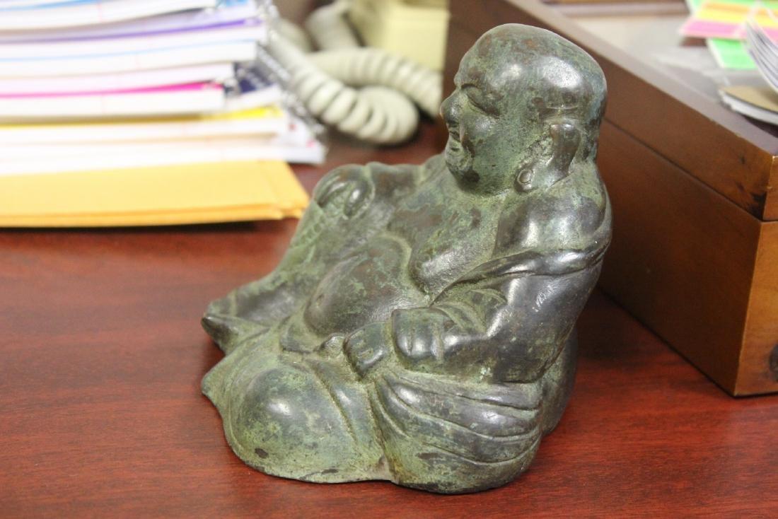A Vintage ChineseBronze/Metal Buddha - 6