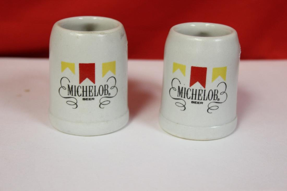 A Pair of Michelob Miniature Beer Mugs