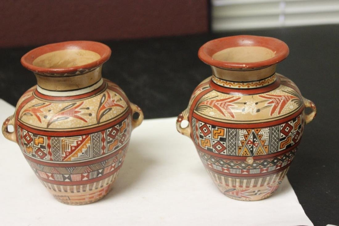 Lot of 2 Clay Jar