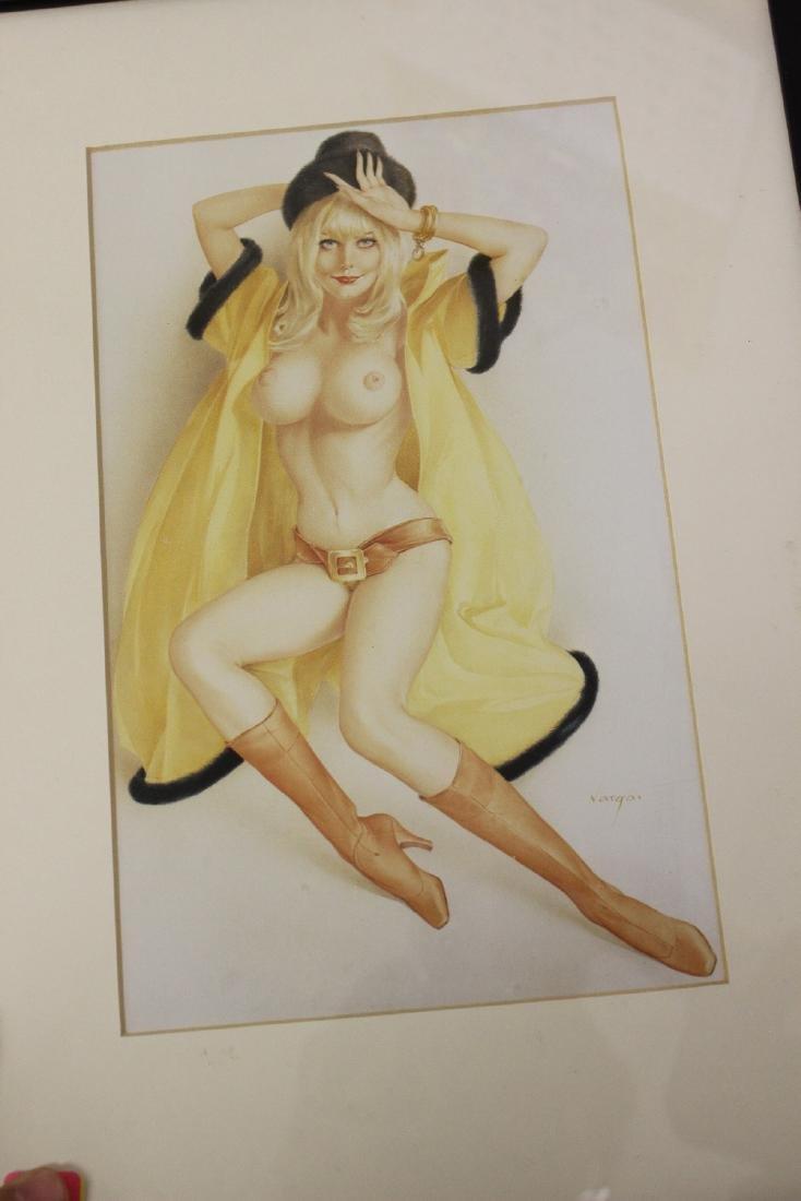 A Print of a Semi Nude Girl