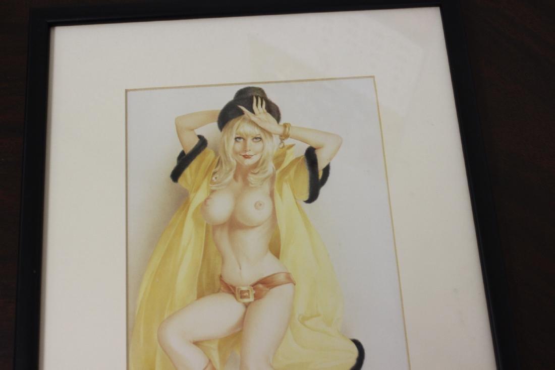 A Print of a Semi Nude Girl - 2