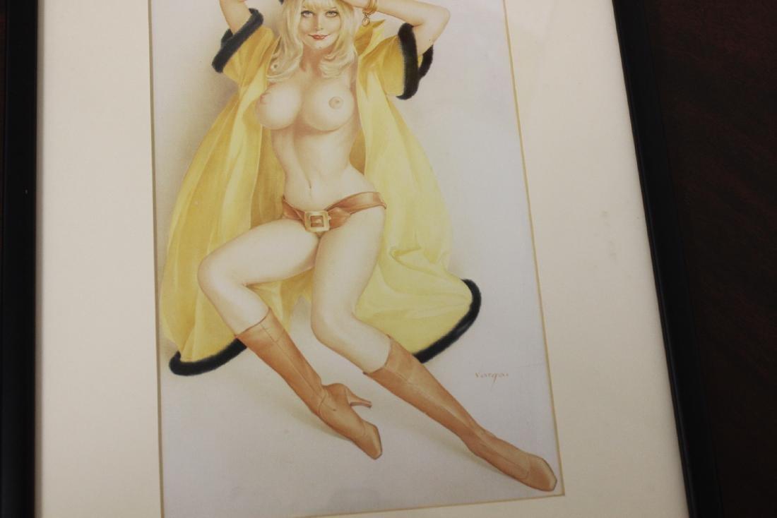 A Print of a Semi Nude Girl - 3