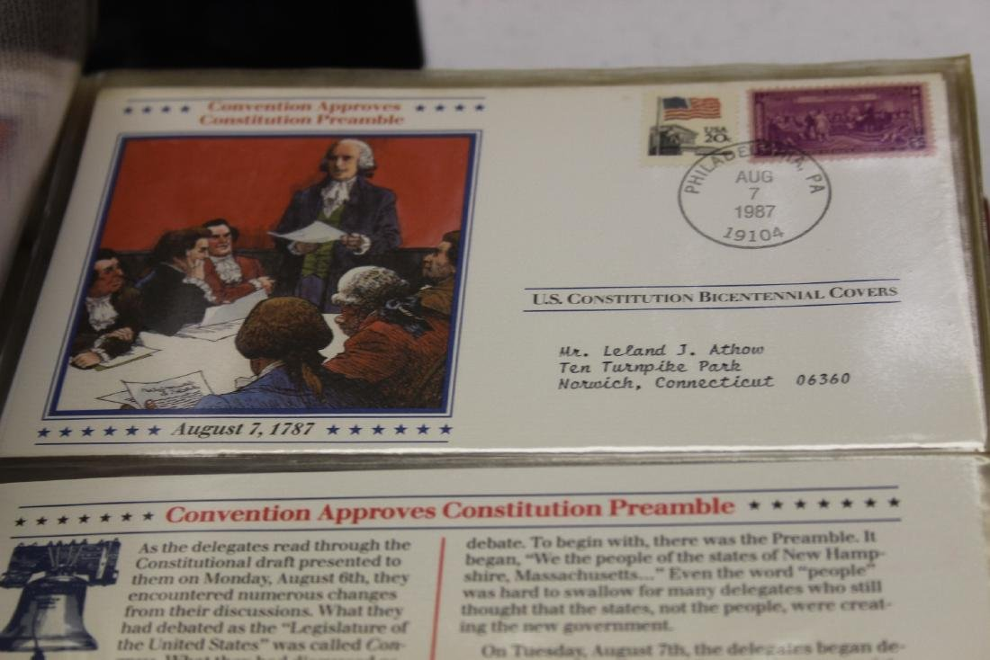 The United States Constitution Bicentennial Covers - 6