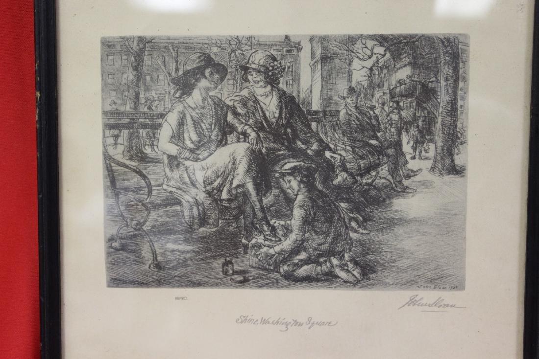 A Print of an Etching John Sloan - 2