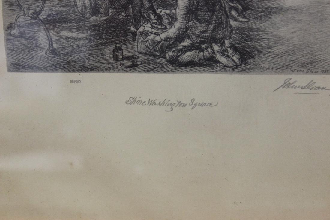 A Print of an Etching John Sloan - 3