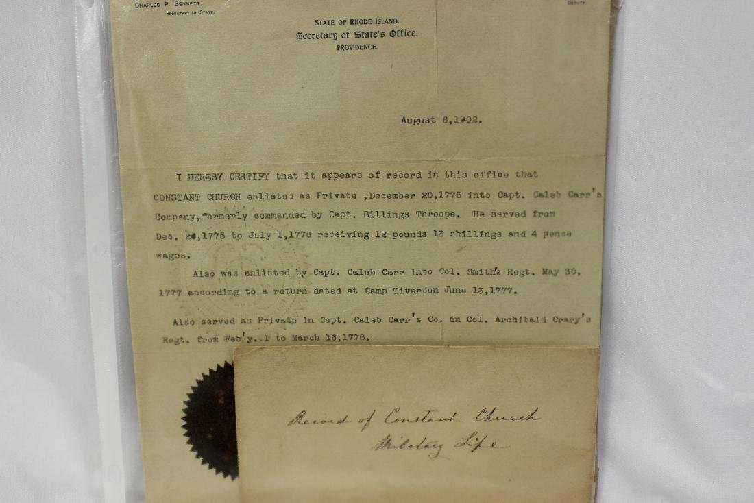 A Signed Charles P. Bennett Article - 2
