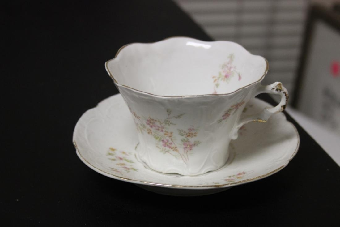 An Antique Weimar, Germany Cup and Saucer