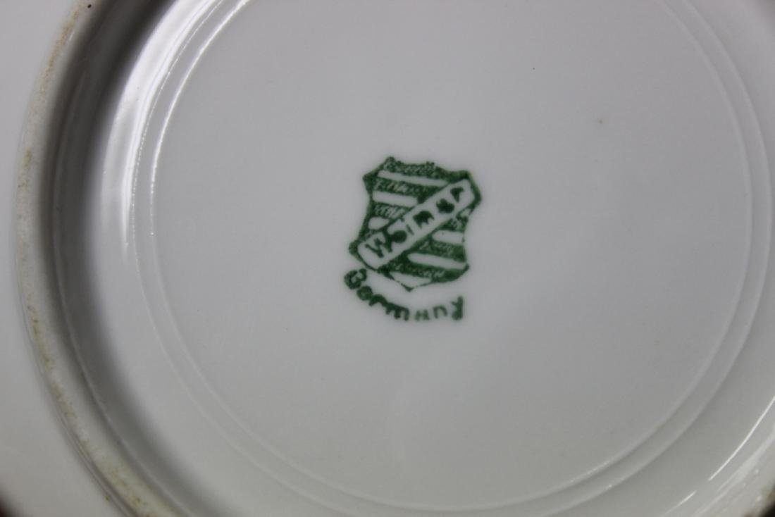An Antique Weimar, Germany Cup and Saucer - 7