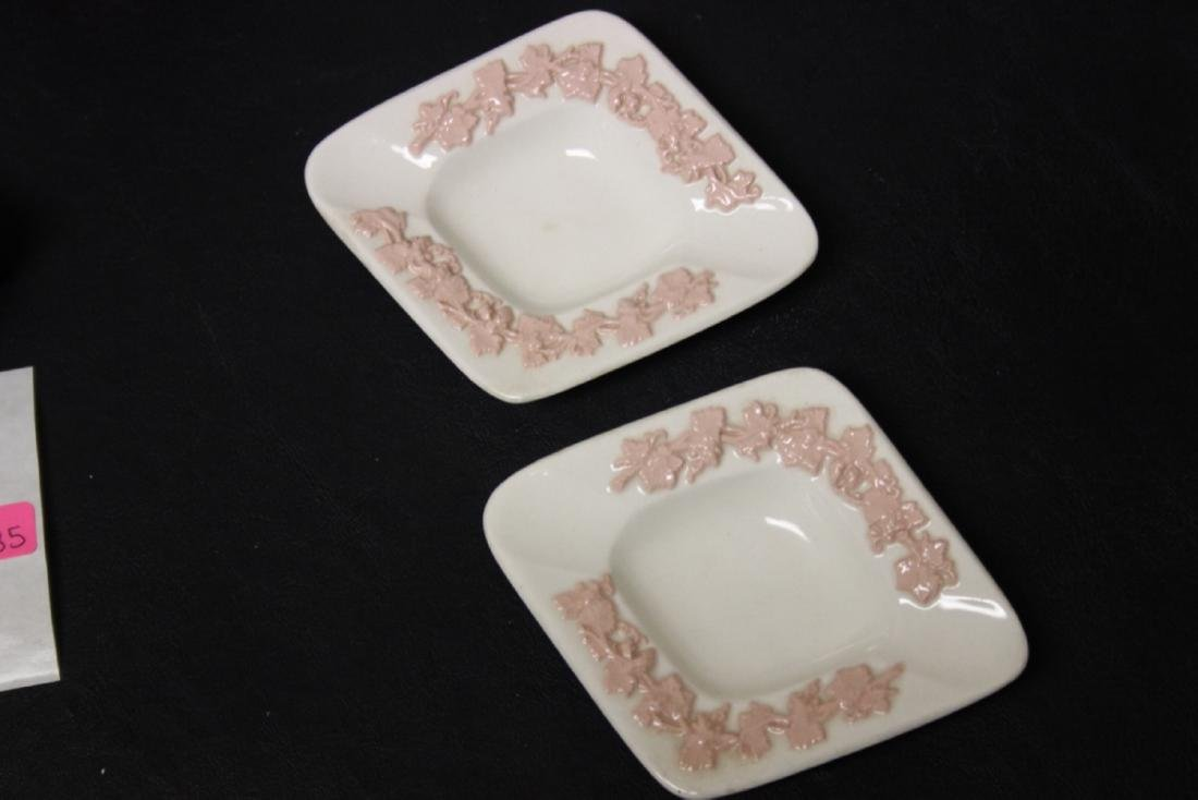 Lot of Two Wedgwood Queensware Persona Ashtrays