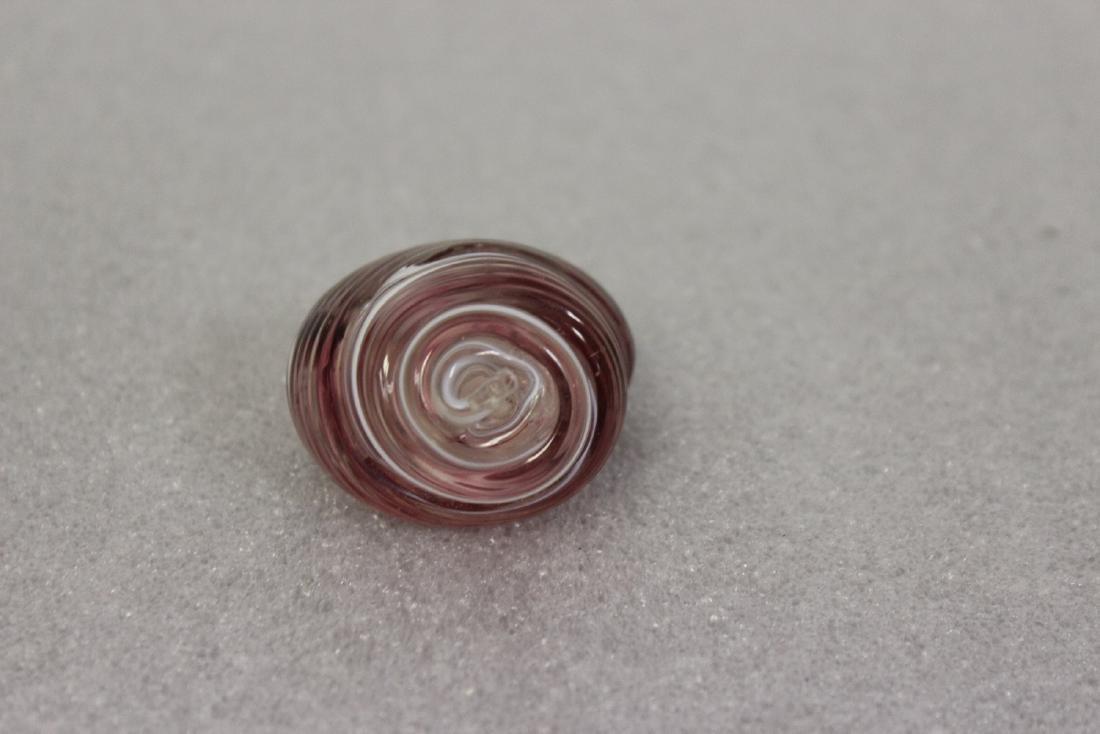 A Gozo Art Glass Snail - 2
