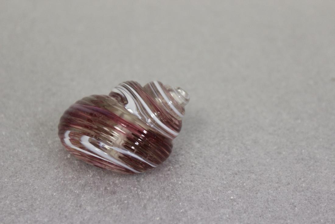 A Gozo Art Glass Snail - 3