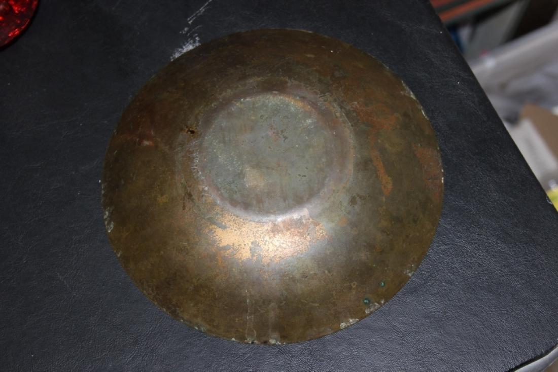 A Copper Enamel Plate - 7