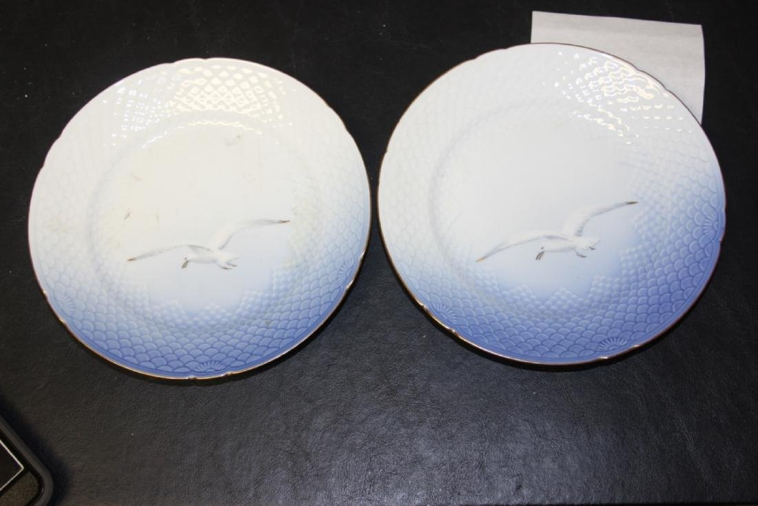 Set of Two Denmark B&G (Bing and Grondahl) Salad Plates