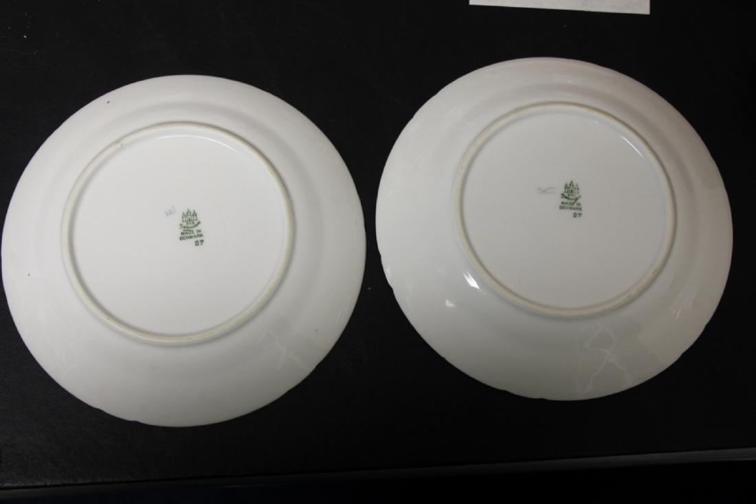 Set of Two Denmark B&G (Bing and Grondahl) Salad Plates - 8