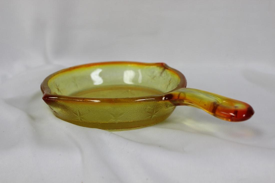 A Decorative Glass Frying Pan - 3