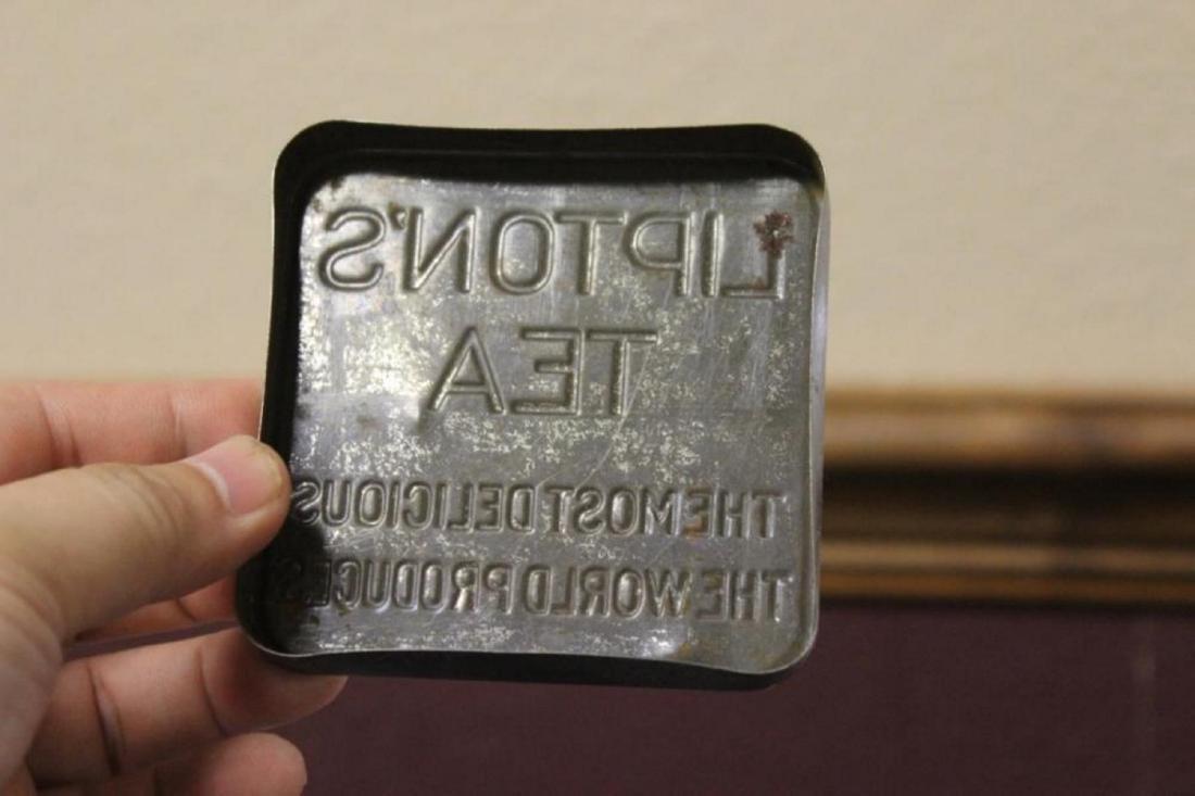 Vintage Lipton's Tea Tin Can Planter - Ceylon - 4