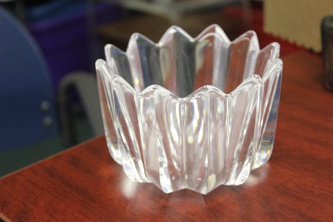 An Orrefors Glass or Crystal Bowl