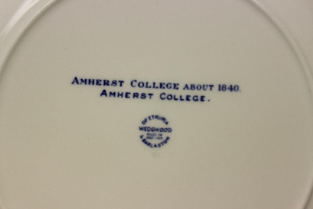 A Wedgwood Amherst College Plate - 10