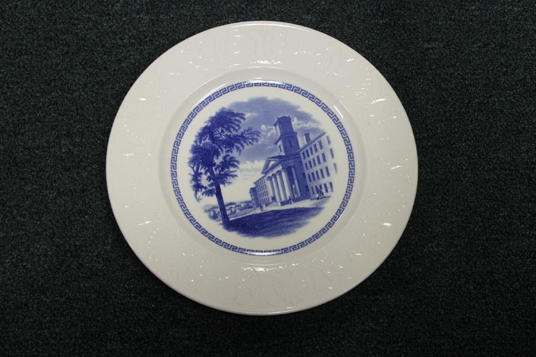 A Wedgwood Amherst College Plate