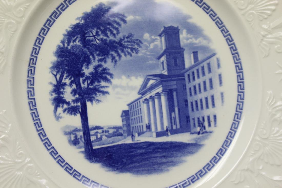 A Wedgwood Amherst College Plate - 2