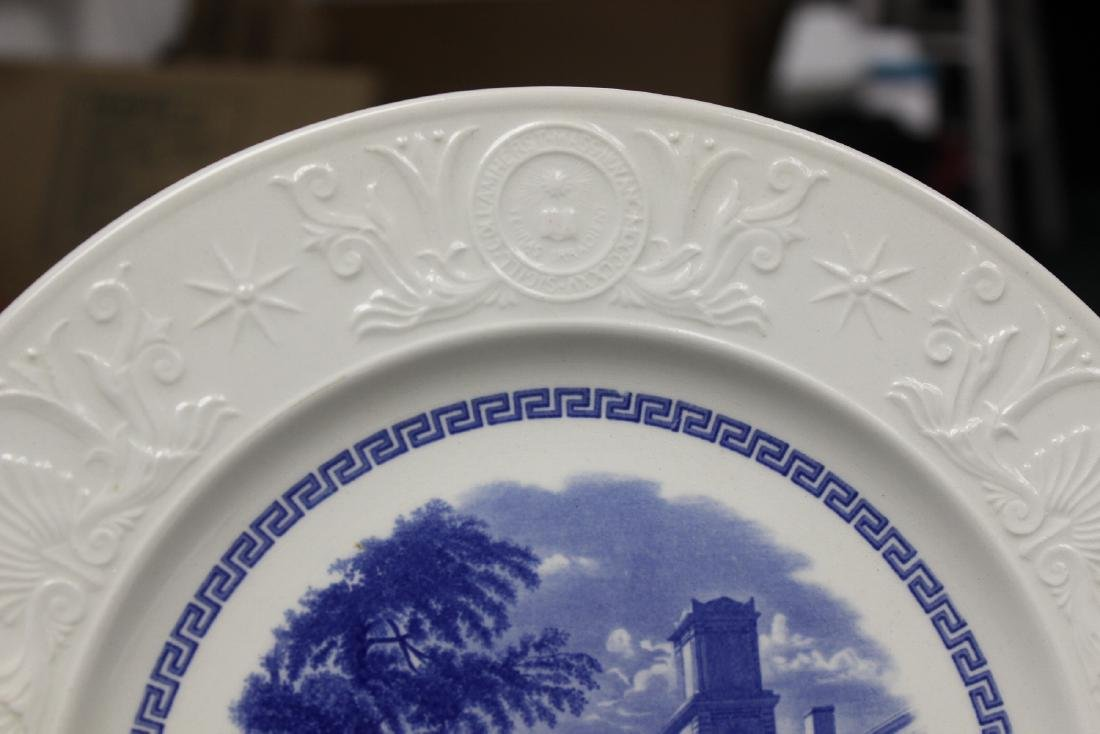 A Wedgwood Amherst College Plate - 3