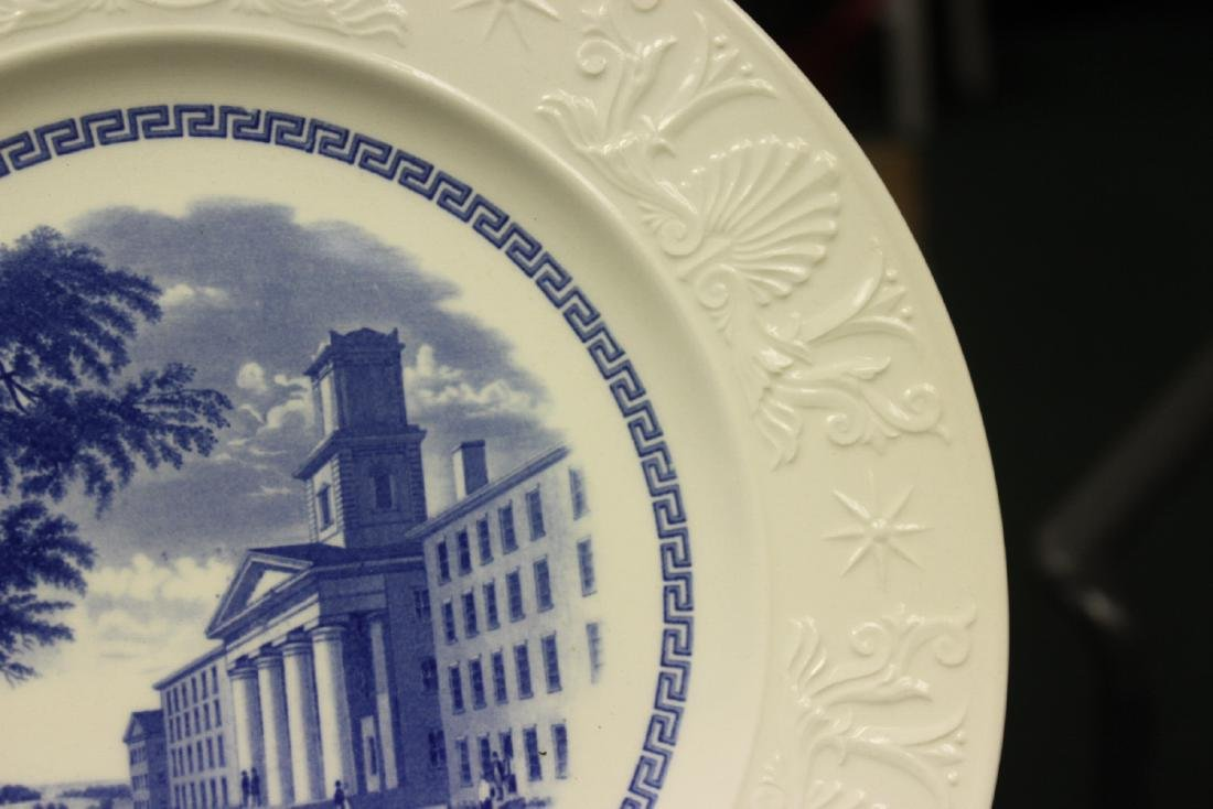 A Wedgwood Amherst College Plate - 4