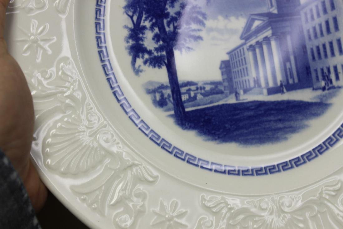 A Wedgwood Amherst College Plate - 5