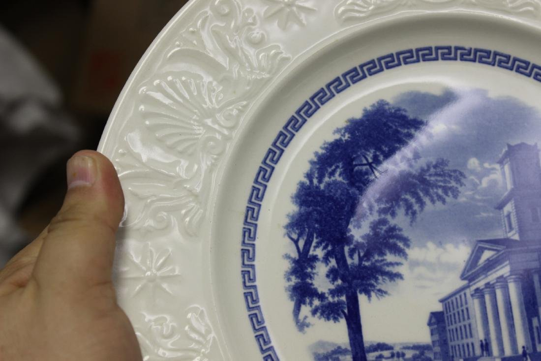 A Wedgwood Amherst College Plate - 6