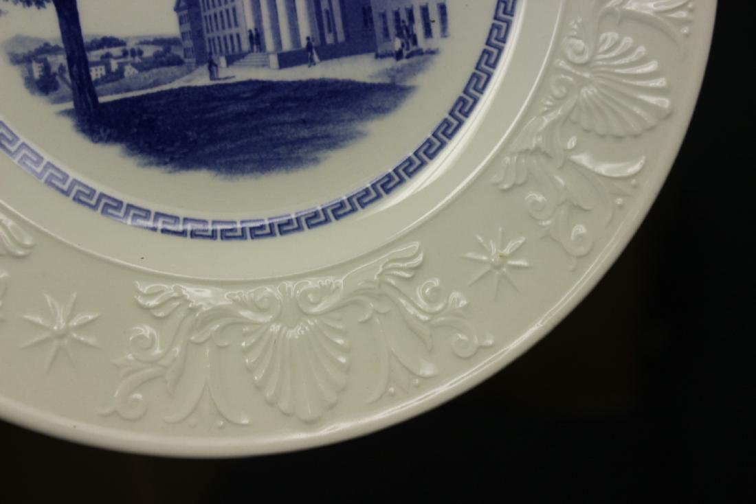 A Wedgwood Amherst College Plate - 7