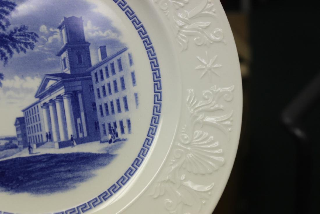 A Wedgwood Amherst College Plate - 8