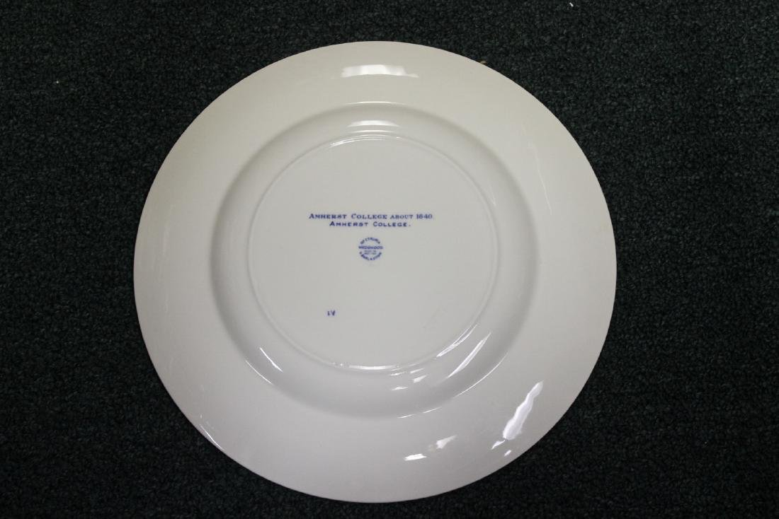 A Wedgwood Amherst College Plate - 9