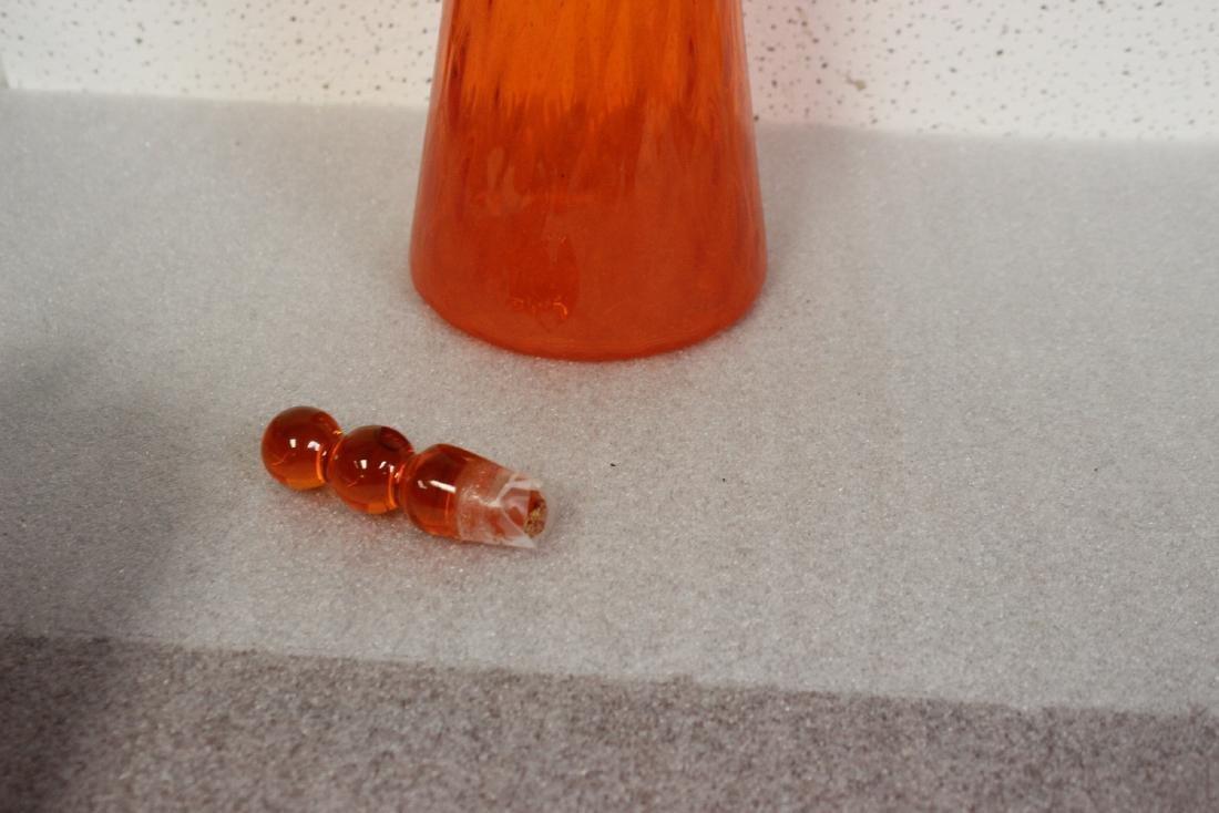 A Blenko? Glass Decanter - 4