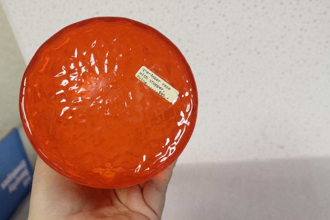 A Blenko? Glass Decanter - 5