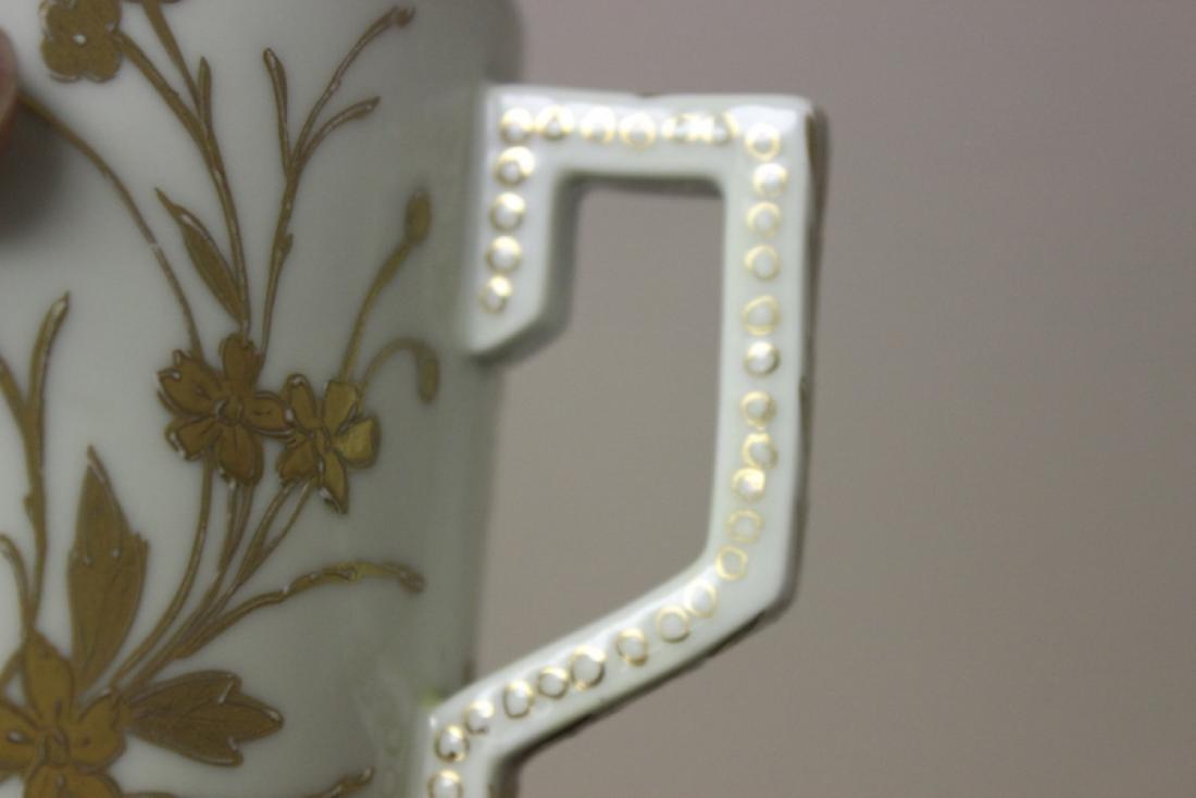 A Royal Vienna (?) Beehive Shield Mark Jar - 8