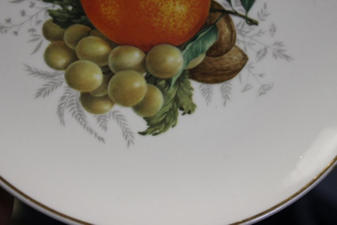 An E&R Golden Crown Germany Salad Plate - 6