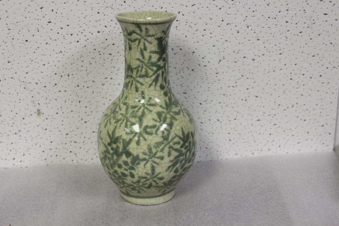 An Oriental Celadon Vase
