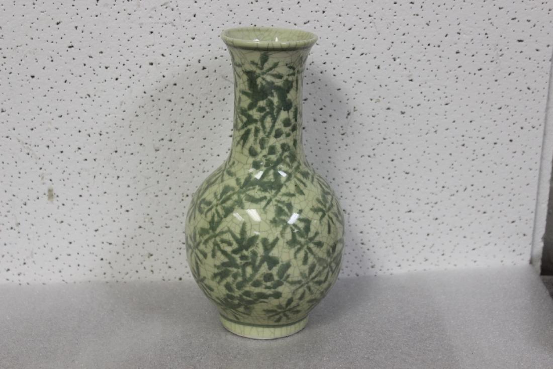 An Oriental Celadon Vase - 2