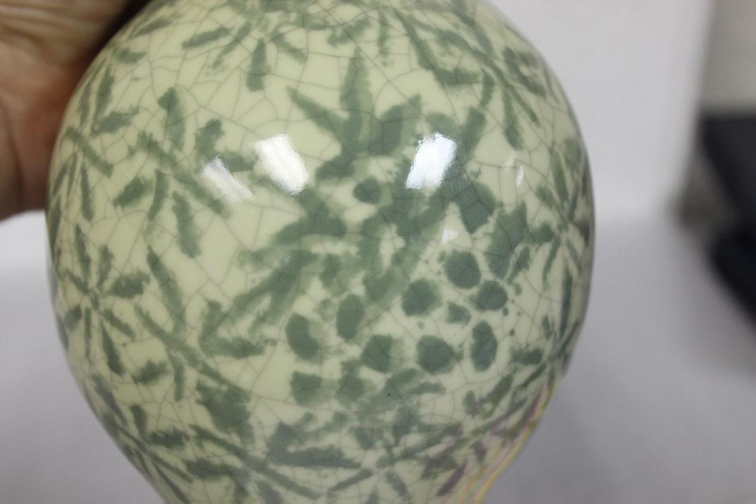 An Oriental Celadon Vase - 8
