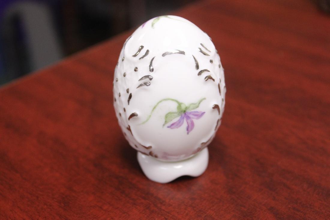 A Signed Ceramic Egg - 3