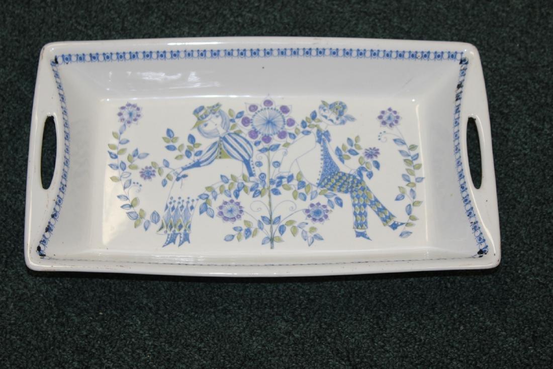 A Porcelain Tray