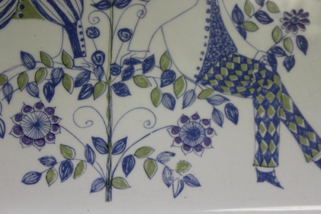 A Porcelain Tray - 5