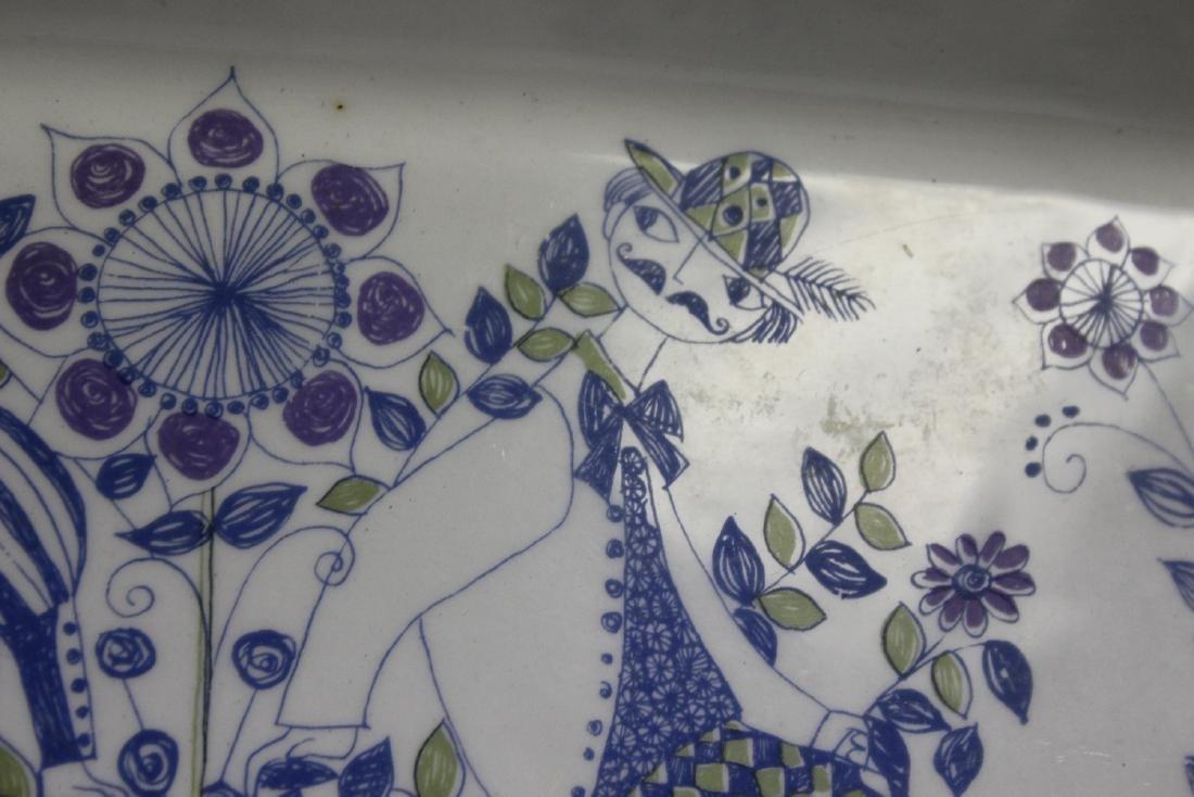 A Porcelain Tray - 6
