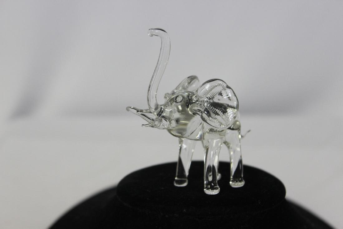 A Clear Glass Elephant