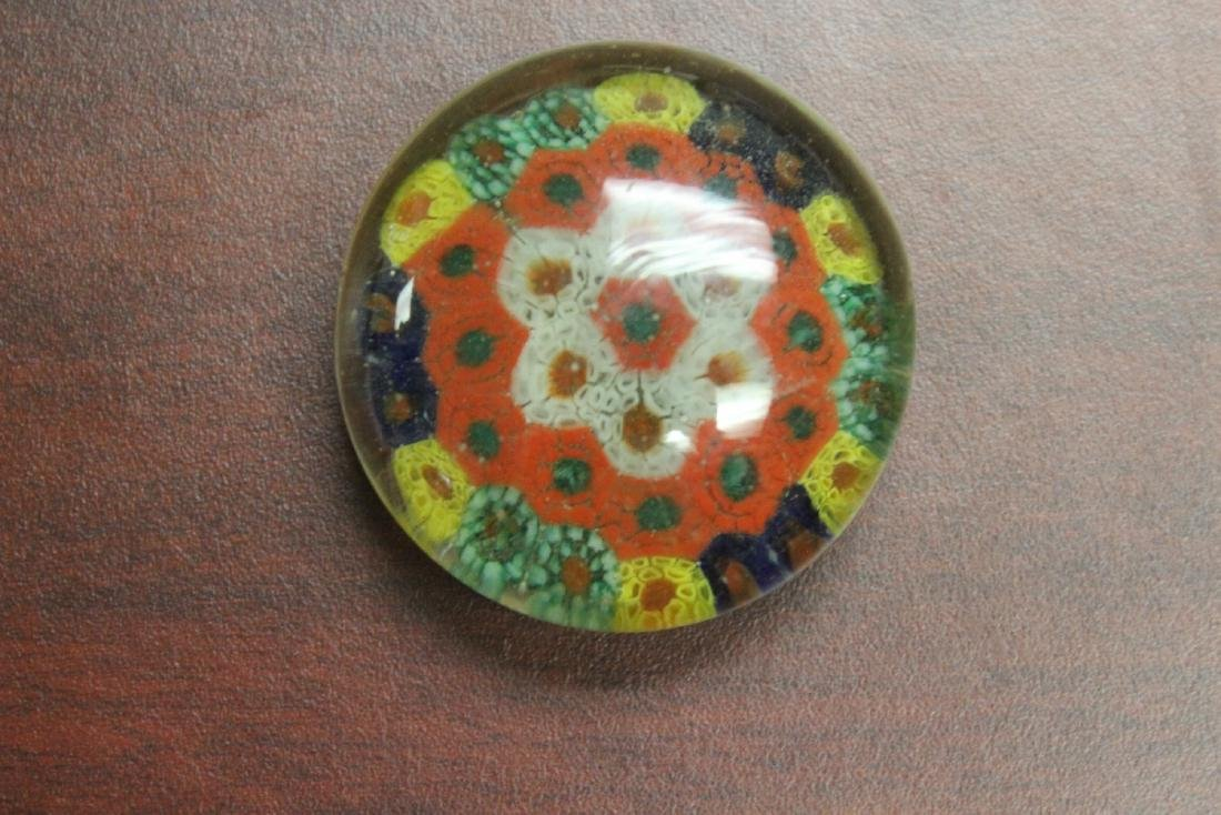 A Small Glass Paperweight