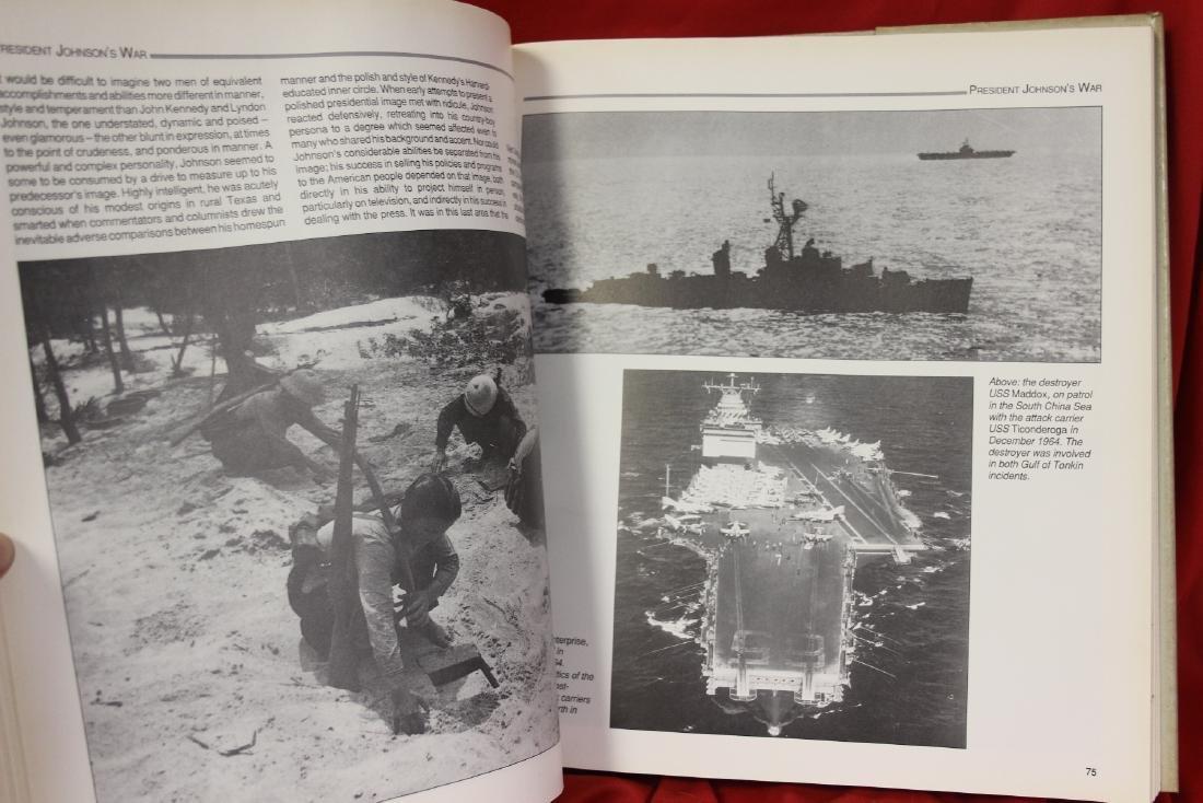 A Hardcover Book: America in Vietnam - 7