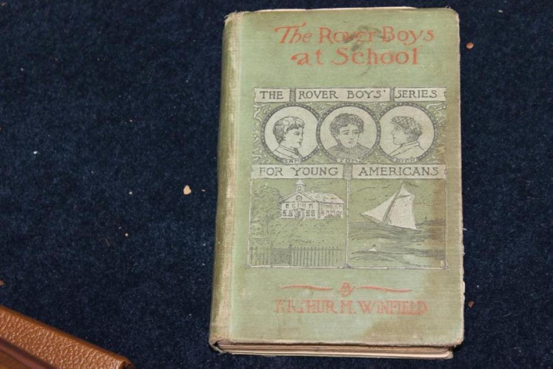 Book - The Rover Boys At School