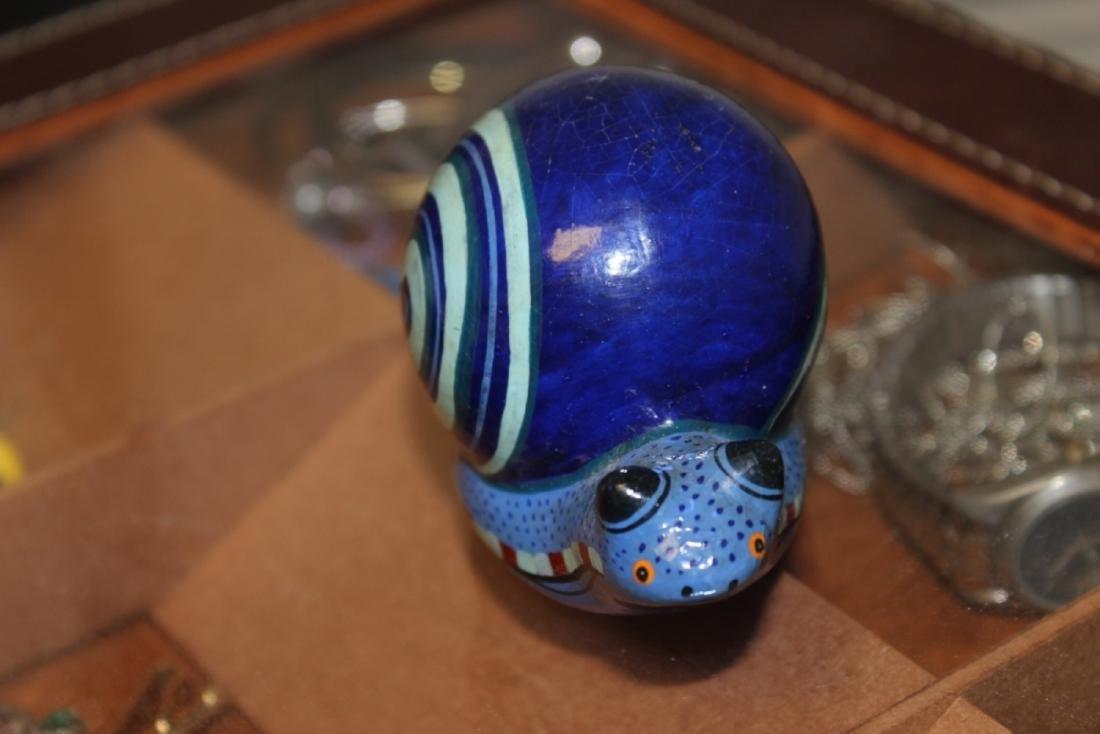 A Wooden Art Snail - 3