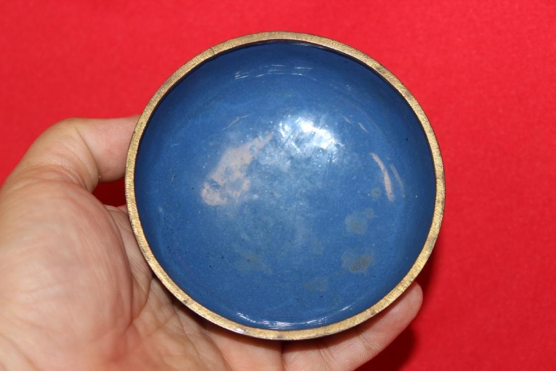 A Vintage/Antique cloisonne Dragon Box - 5